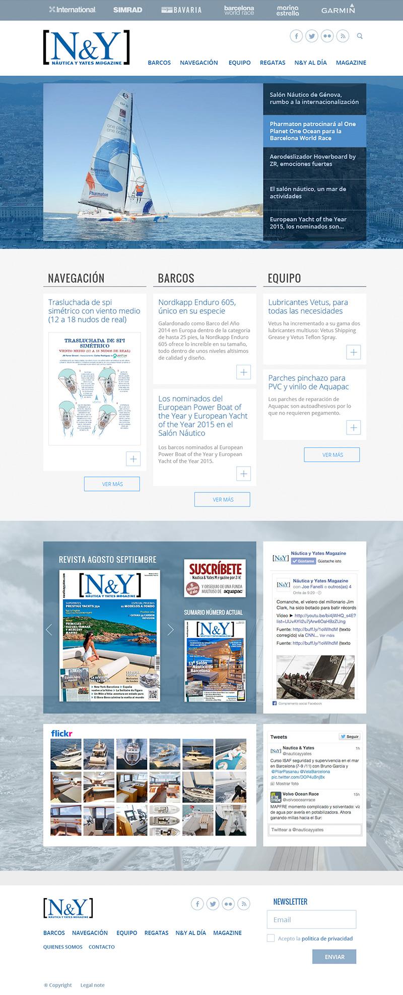 Náutica y Yates magazine