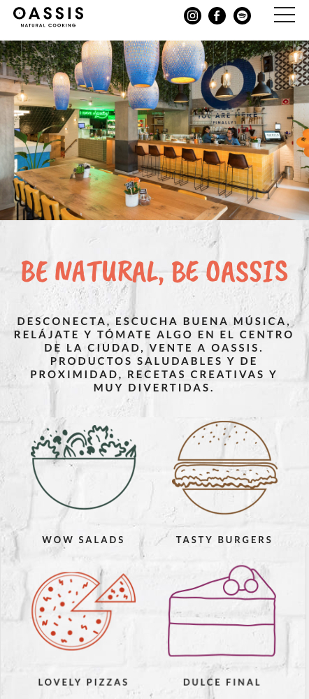 Oassis Natural Cooking